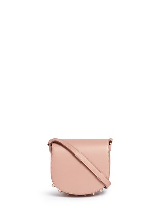 Main View - Click To Enlarge - Alexander Wang  - Lia' mini leather saddle sling bag