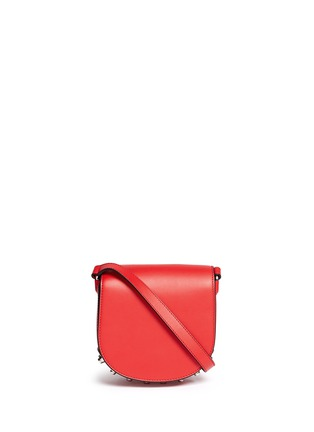 Main View - Click To Enlarge - Alexander Wang  - 'Lia' mini leather saddle sling bag