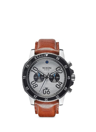 Main View - Click To Enlarge - Nixon Accessories - 'Ranger Chrono Leather' watch