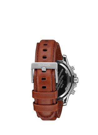 Figure View - Click To Enlarge - Nixon Accessories - 'Ranger Chrono Leather' watch