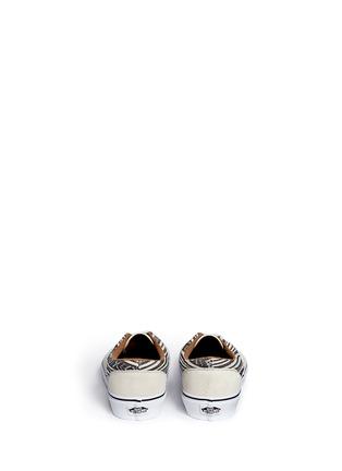 Back View - Click To Enlarge - Vans - 'Era' tribal stripe print canvas sneakers