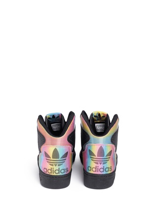 Back View - Click To Enlarge - Adidas - x Rita Ora 'Instinct W' leather sneakers