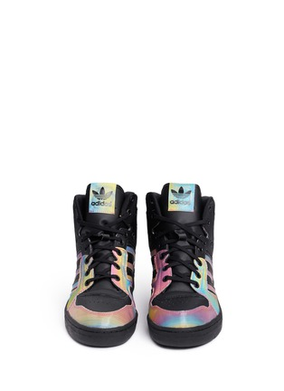 Front View - Click To Enlarge - Adidas - x Rita Ora 'Instinct W' leather sneakers