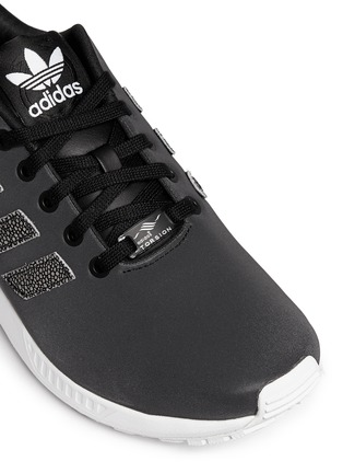 Detail View - Click To Enlarge - Adidas - x Rita Ora 'ZX Flux' leather sneakers