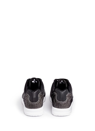Back View - Click To Enlarge - Adidas - x Rita Ora 'ZX Flux' leather sneakers