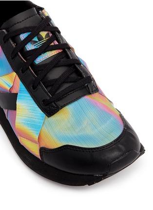 Detail View - Click To Enlarge - Adidas - x Rita Ora 'AR-10' metallic strap sneakers