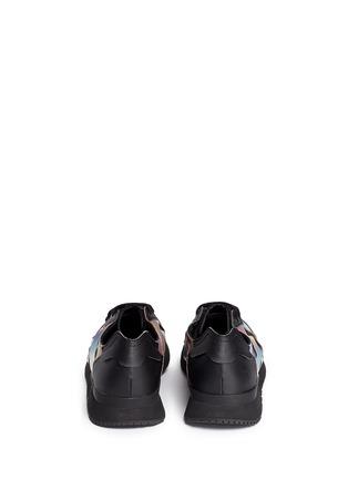 Back View - Click To Enlarge - Adidas - x Rita Ora 'AR-10' metallic strap sneakers
