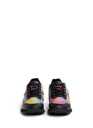 Front View - Click To Enlarge - Adidas - x Rita Ora 'AR-10' metallic strap sneakers