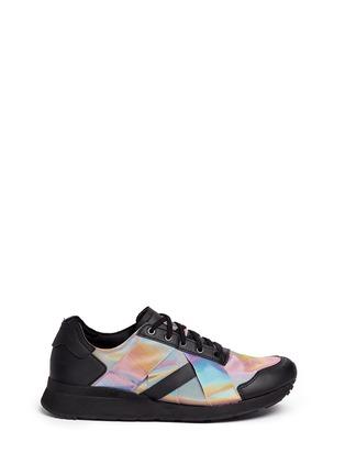 Main View - Click To Enlarge - Adidas - x Rita Ora 'AR-10' metallic strap sneakers