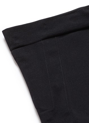 Detail View - Click To Enlarge - Spanx By Sara Blakely - 'OnCore' high waist mid-thigh shorts