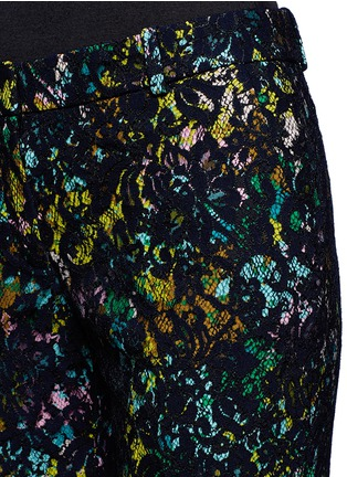 Detail View - Click To Enlarge - J.CREW - Collection café capri in technicolor floral with lace