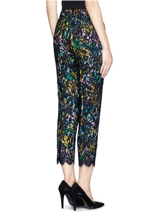 Back View - Click To Enlarge - J.CREW - Collection café capri in technicolor floral with lace