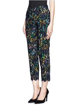 Front View - Click To Enlarge - J.CREW - Collection café capri in technicolor floral with lace