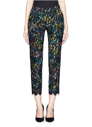 Main View - Click To Enlarge - J.CREW - Collection café capri in technicolor floral with lace