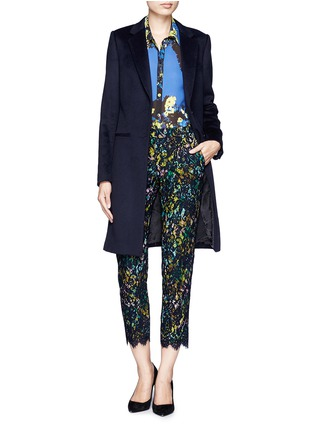 Figure View - Click To Enlarge - J.CREW - Collection café capri in technicolor floral with lace