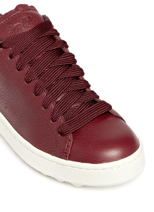 Detail View - Click To Enlarge - Coach - 'C101' pebbled leather sneakers