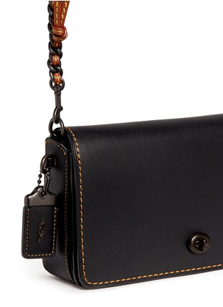 Detail View - Click To Enlarge - Coach - 'Dinky' glovetanned leather crossbody bag