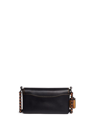 Back View - Click To Enlarge - Coach - 'Dinky' glovetanned leather crossbody bag