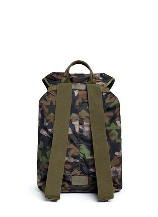 Back View - Click To Enlarge - Valentino - 'Camustars' nylon backpack