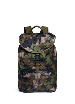 Main View - Click To Enlarge - Valentino - 'Camustars' nylon backpack