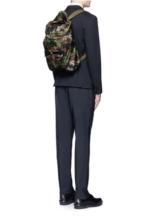 Figure View - Click To Enlarge - Valentino - 'Camustars' nylon backpack