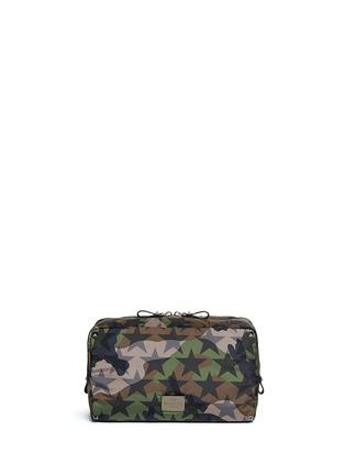 Back View - Click To Enlarge - VALENTINO - 'Camustars' washbag
