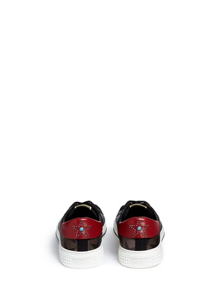 Back View - Click To Enlarge - Valentino - Star camouflage sneakers