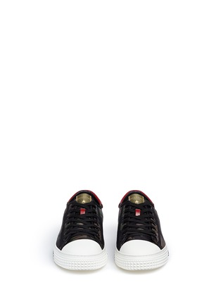 Front View - Click To Enlarge - Valentino - Star camouflage sneakers