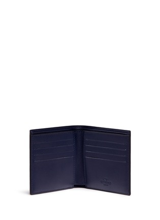 Figure View - Click To Enlarge - Valentino - 'Rockstud' leather bifold wallet