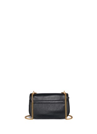 Back View - Click To Enlarge - See by Chloé - 'Lois' turnlock sheepskin leather shoulder bag