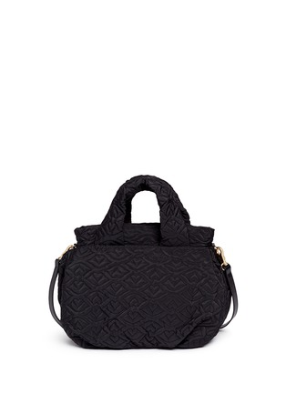 Back View - Click To Enlarge - See by Chloé - 'Bisou' logo stitch shoulder bag