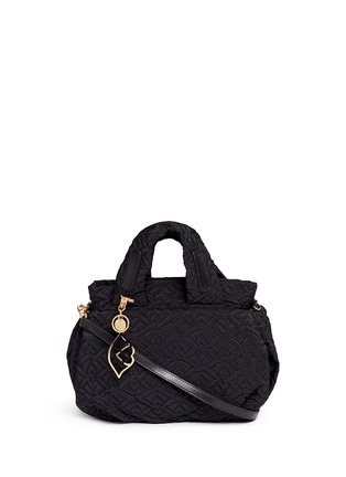 Main View - Click To Enlarge - See by Chloé - 'Bisou' logo stitch shoulder bag