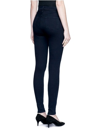 Back View - Click To Enlarge - J BRAND - 'MARIA' HIGH RISE SKINNY PANTS