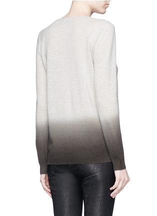 Back View - Click To Enlarge - Theory - 'Adrianna FD' ombré effect cashmere sweater