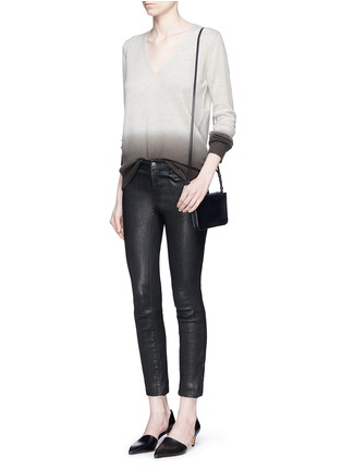 Figure View - Click To Enlarge - Theory - 'Adrianna FD' ombré effect cashmere sweater