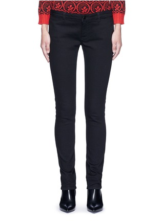 Main View - Click To Enlarge - Givenchy - Star patch denim pants