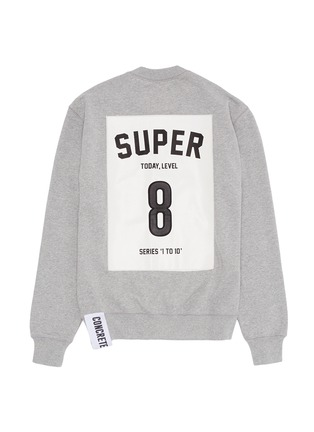 Main View - Click To Enlarge - Studio Concrete - 'Series 1 to 10' unisex sweatshirt - 8 Super