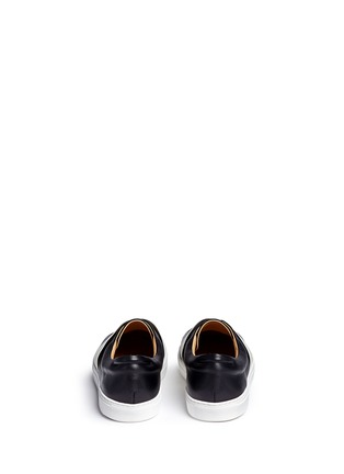 Back View - Click To Enlarge - Bing Xu - 'Hudson' elastic band skate slip-ons