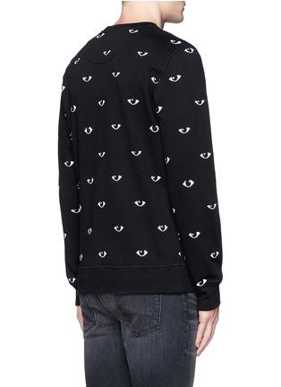 Back View - Click To Enlarge - KENZO - Eye print sweatshirt