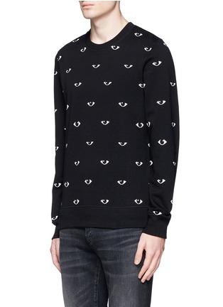 Front View - Click To Enlarge - KENZO - Eye print sweatshirt