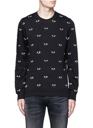 Main View - Click To Enlarge - KENZO - Eye print sweatshirt