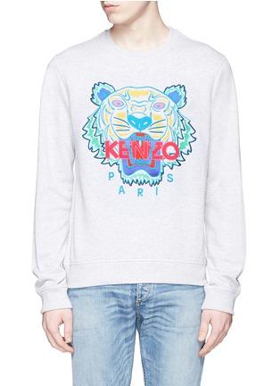 Main View - Click To Enlarge - KENZO - Tiger print sweatshirt