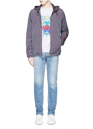Figure View - Click To Enlarge - KENZO - Tiger print sweatshirt