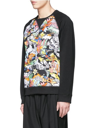 Front View - Click To Enlarge - KENZO - 'Cartoon' desert print sweatshirt