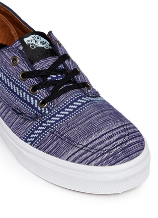 Detail View - Click To Enlarge - Vans - 'Brigata' tribal stripe print canvas sneakers