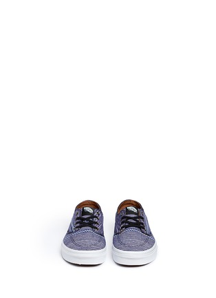 Front View - Click To Enlarge - Vans - 'Brigata' tribal stripe print canvas sneakers
