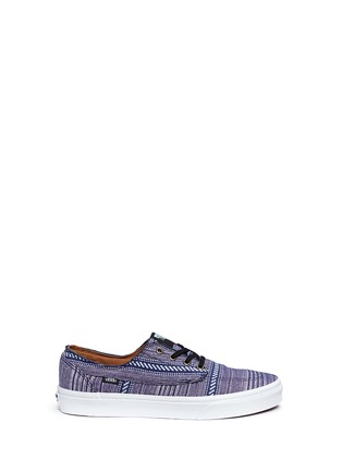 Main View - Click To Enlarge - Vans - 'Brigata' tribal stripe print canvas sneakers