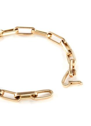 14k Yellow Gold Chain Link Bracelet