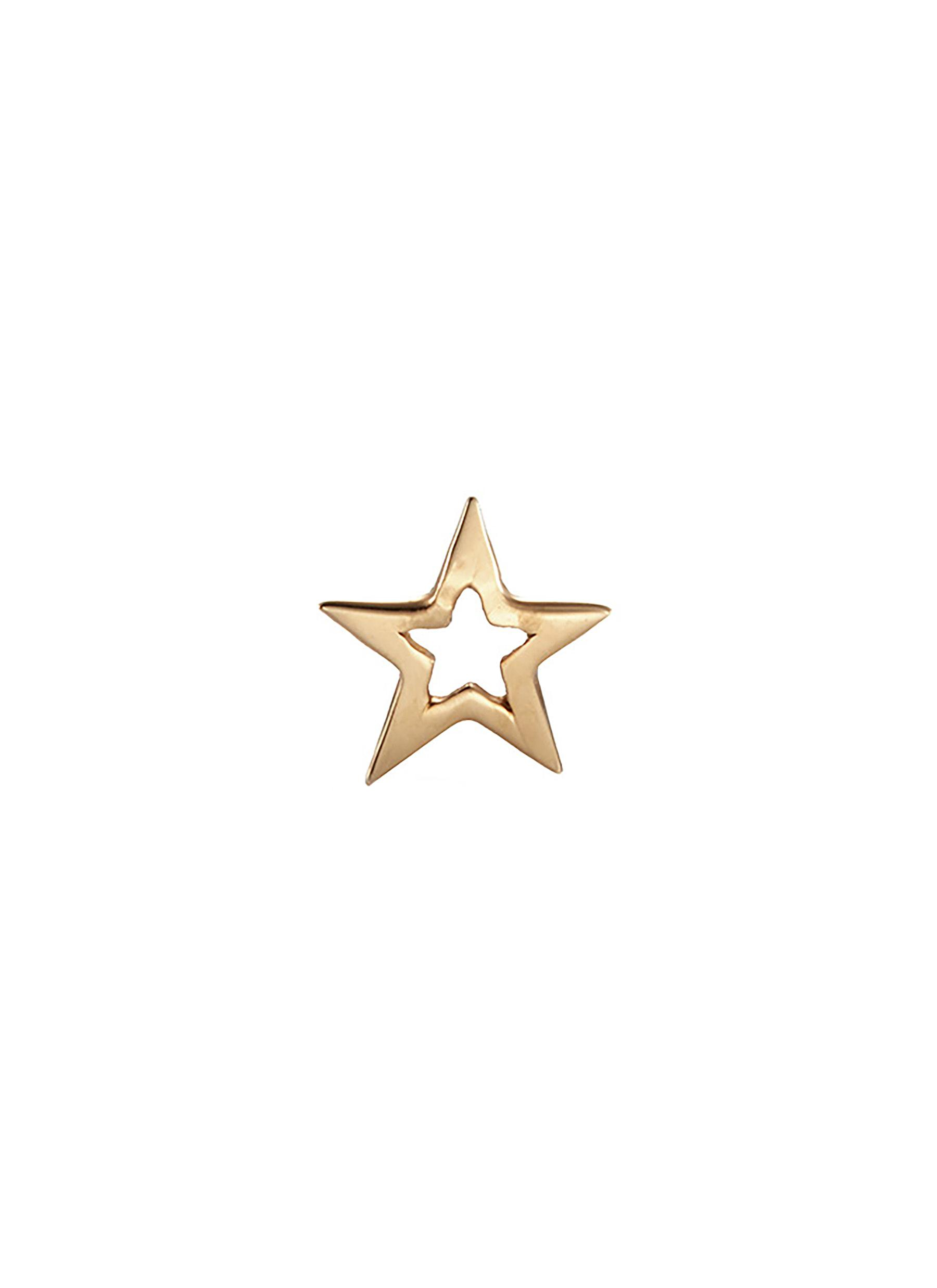 LOQUET LONDON 'Star' 14K Yellow Gold Single Stud Earring – You'Re A Star