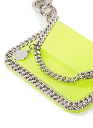 Detail View - Click To Enlarge - STELLA MCCARTNEY - 'Falabella' clutch keyring